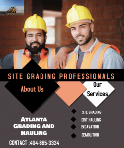 Excavation, grading and demolition professional
