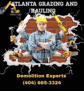 Atlanta demolition, excavation and dirt hauling company in Atlanta Ga