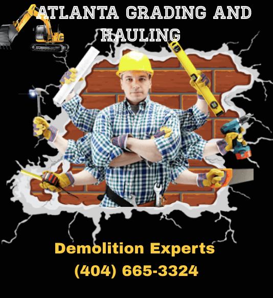 Atlanta demolition, excavation and dirt hauling company in Atlanta Ga