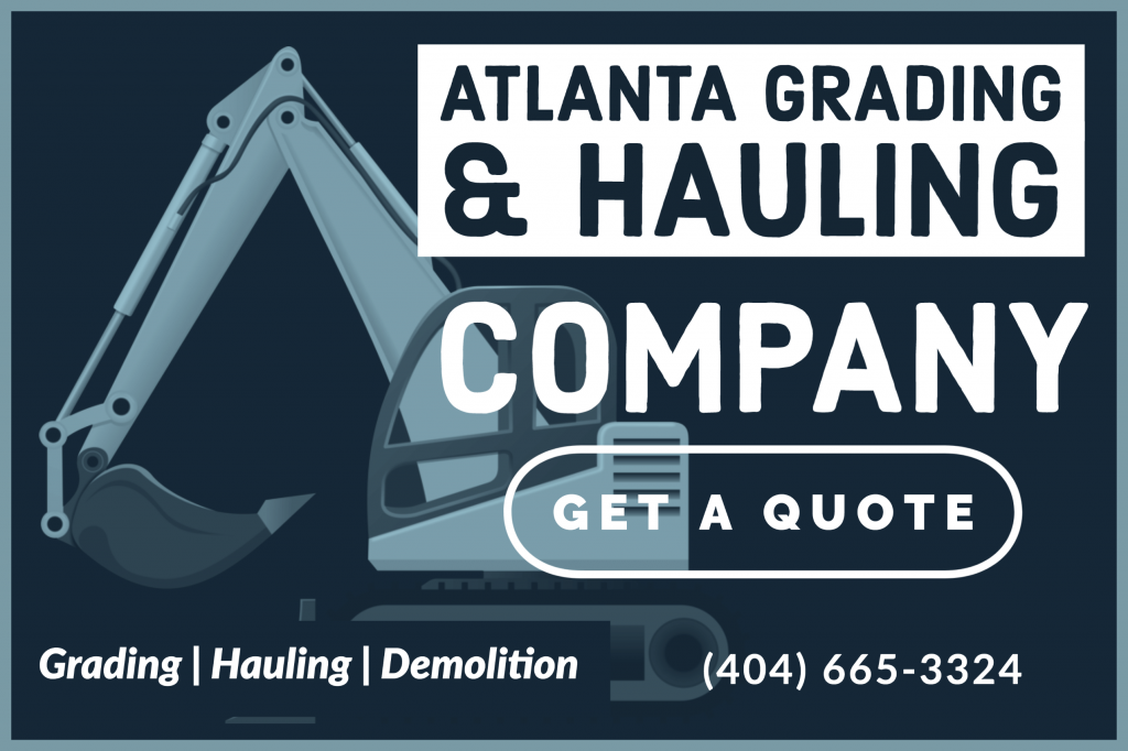 Atlanta grading hauling demolition company in Atlanta Georgia