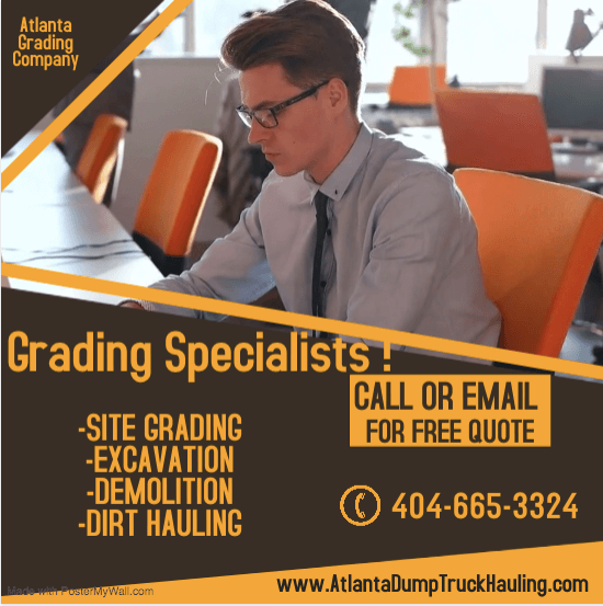 Atlanta grading, hauling and demolition specialists
