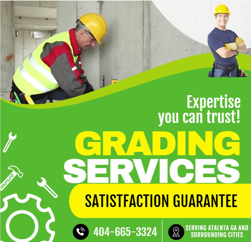 Site Grading Service in Atlanta Ga - Grading and excavation company atlanta ga